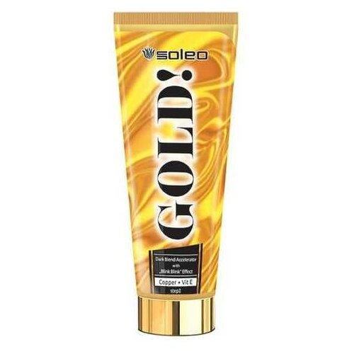 Крем для загара в солярии Soleo Gold 200 мл