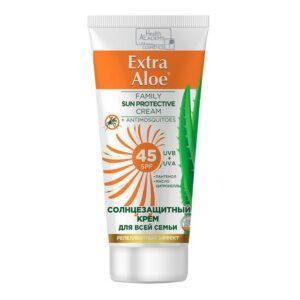 крем Extra Aloe солнцезащ. SPF45 репеллентный эффект 100мл