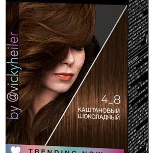 Крем-краска для волос Syoss Color каштановый шоколадный тон 4-8
