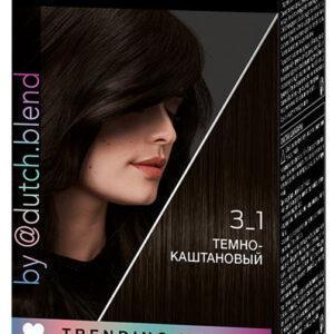 Крем-краска для волос Syoss Color Темно каштановый тон 3-1