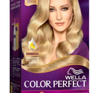 Крем-краска для волос Wella Color Perfect ярко пепельный блонд тон 11/1