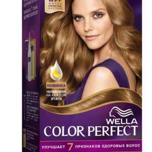 Крем-краска для волос Wella Color Perfect лесной орех тон 7/3