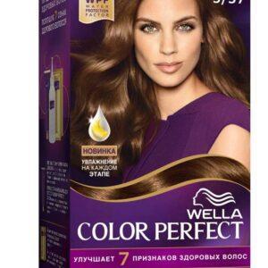 Крем-краска для волос Wella Color Perfect шок с карамелью тон 5/37
