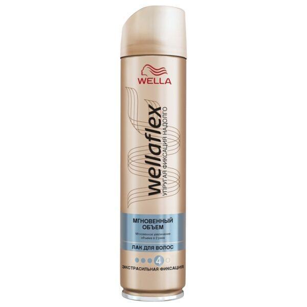 лак для волос WELLAFLEX Моментальный Объем 250 мл