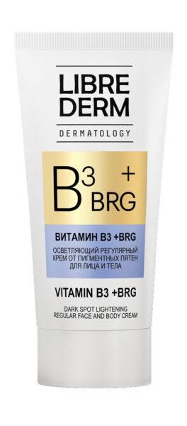 Librederm BRG + Vitamin B3 Dark Spot Lighteining Regular Face And Body Cream