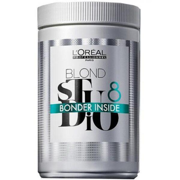 L'Oreal Professionnel Пудра Blond Studio Inside Bonder 8 Осветляющая для Мультитехник с Бондером