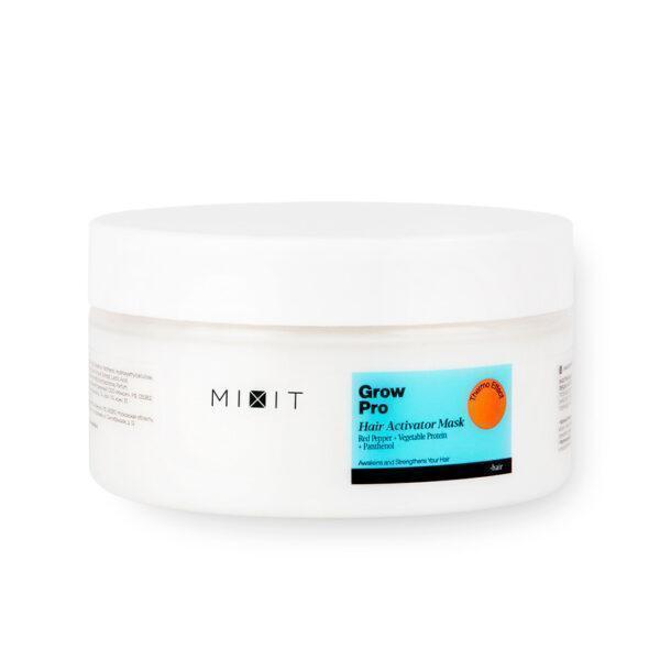 MIXIT Разогревающая маска-активатор роста волос с красным перцем