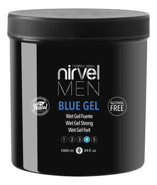 Nirvel Professional Гель Blue Gel для Укладки Волос Сильной Фиксации
