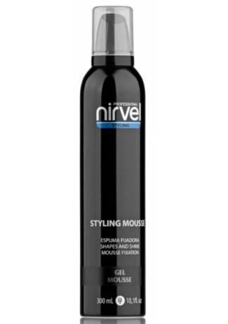 Nirvel Professional Гуль-Мусс Gel Mousse для Завершения Укладки Волос
