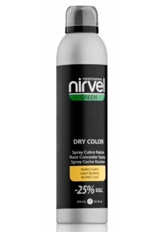 Nirvel Professional Спрей Dry Color Light Blond Тонирующий для Волос Светлый Блондин