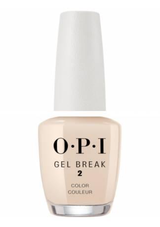OPI Покрытие Gel Break Too Tan-talizing Ухаживающее с Эффектом Цвета Интенсивный Бежевый