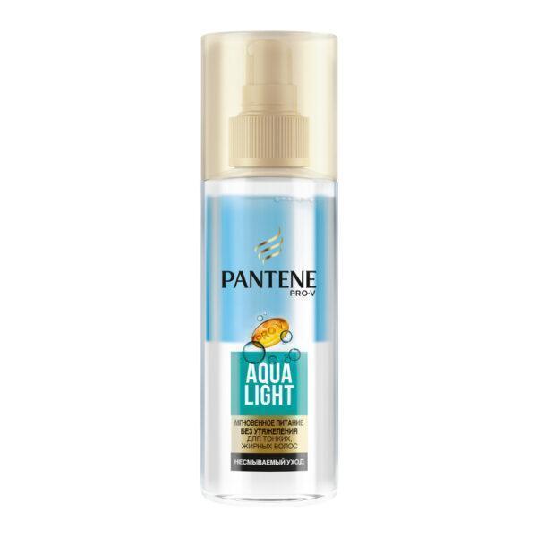 PANTENE Спрей Мгновенное питание без утяжеления Aqua Light