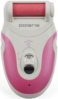 Педикюрный прибор для удаления мозолей Polaris PSR 0801 бело-розовый