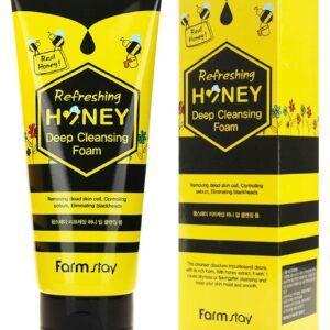 Пенка для лица FarmStay для глубокого очищения с экстрактом меда