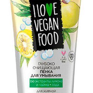 Пенка для умывания Eveline глубокое очищение серии I love vegan food