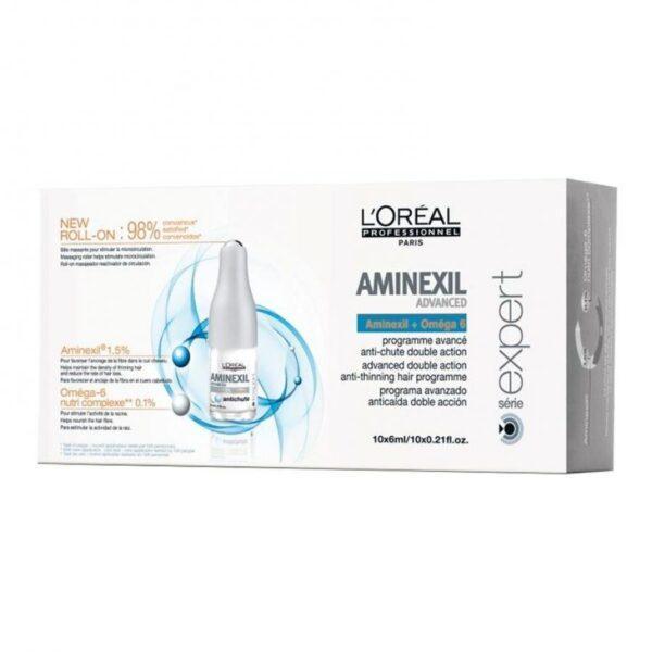 Программа для редеющих волос двойного действия LOreal Professionnel Aminexil Advanced