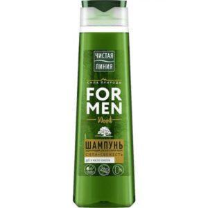 Шампунь для волос ЧИСТАЯ ЛИНИЯ укрепляющий для мужчин 400мл