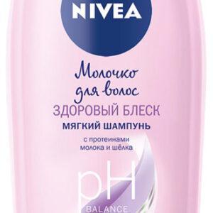 Шампунь для волос Nivea Протеины молока и шелка