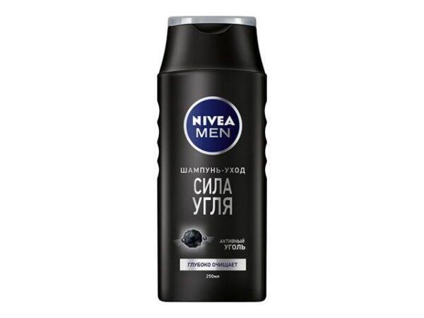 шампунь NIVEA Men Сила Угля 400мл мужской