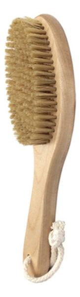 Щетка антицеллюлитная с короткой ручкой (натуральная щетина)