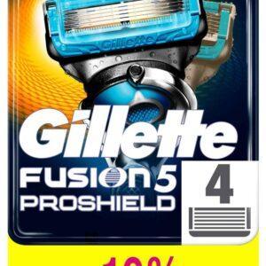 Сменные кассеты для бритья Gillette Fusion Proshield Chill