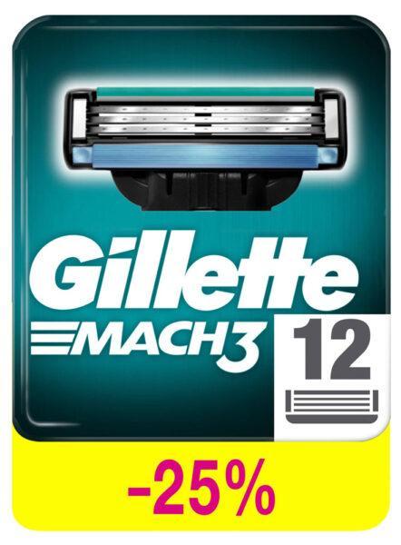 Сменные кассеты для бритья Gillette Mach3