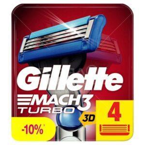 Сменные кассеты для бритья Gillette Mach3 Turbo
