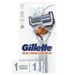 Станок для бритья мужской Gillette Skinguard Sensitive + сменная кассета