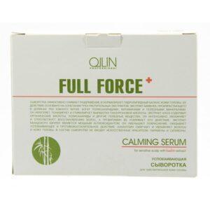 Сыворотка для чувствительной кожи головы Ollin Professional Full Force