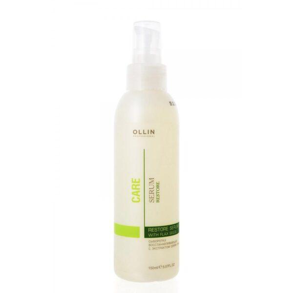 Сыворотка для волос Ollin Professional Care Restore