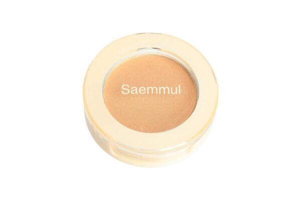 Тени для глаз и бровей The Saem Saemmul Single Shadow (Shimmer) BE06 Lonely Beige 2 г