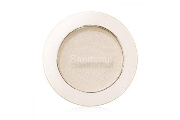 Тени для глаз и бровей The Saem Saemmul Single Shadow (Shimmer) WH01 2 г