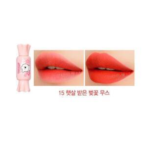 Тинт-мусс для губ The Saem Saemmul Mousse Candy Tint 15 Coral Blossom Mousse 8 г