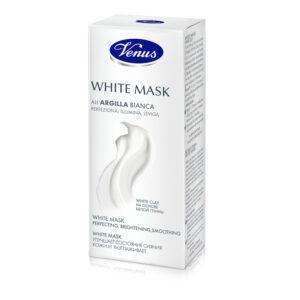 VENUS Маска для лица очищающая с белой глиной