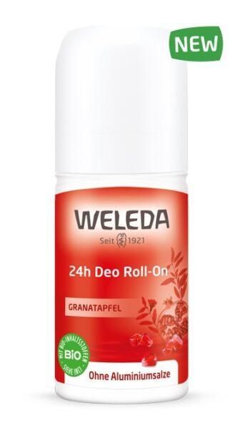 WELEDA Дезодорант Roll-On Гранатовый 24 часа