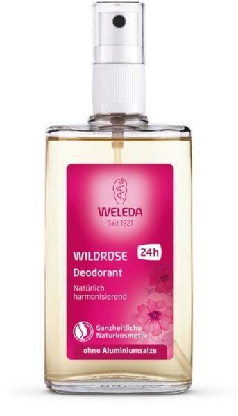 WELEDA Дезодорант Wild Rose Natural Розовый