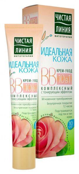 BB-крем для лица «Чистая Линия» Идеальная кожа 10в1