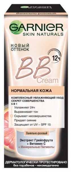 BB-Крем Garnier Секрет совершенства SPF-15 ванильно-розовый