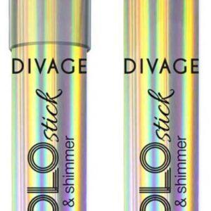 Хайлайтер-стик для лица Divage Holo stick Strobe & Shimmer тон № 01