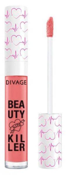 Помада-блеск для губ Divage Liquid Lipstick Beauty Killer тон 02