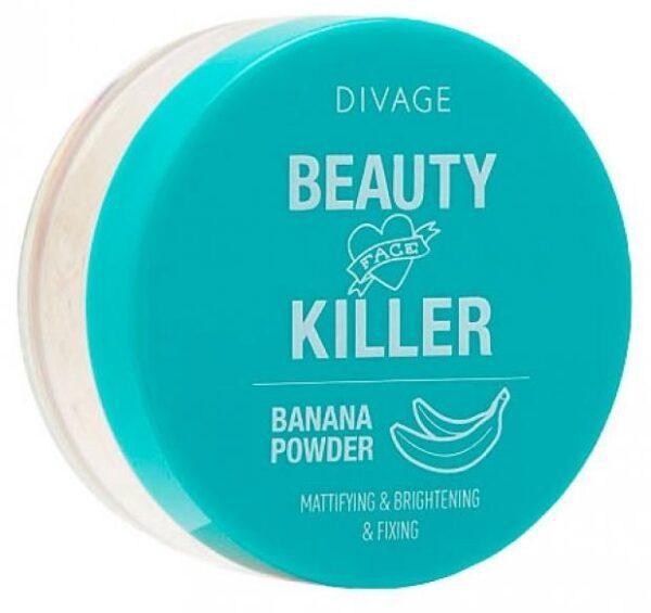 Пудра Divage beauty killer банановая