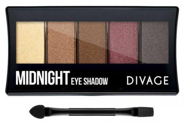 Тени для век Divage Palettes Eye Shadow Midnight палетка