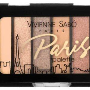 Тени для век Vivienne Sabo палетка мини 6 цветов Paris тон 03