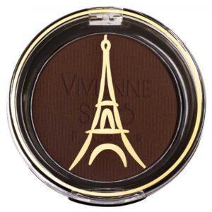 Тени для век Vivienne Sabo устойчивые темно-коричневый матовый тон 116