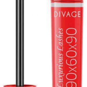 Тушь для ресниц Divage 90x60x90 Luxurious Lashes Black тон 01