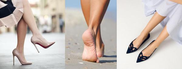Туфли – каблук или плоская подошва?