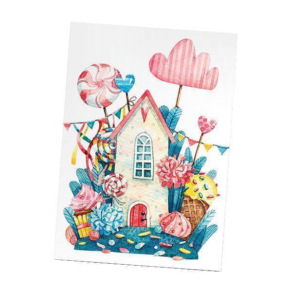 Арома-открытка «Сладкий домик» (Sladkiy domik) 1шт