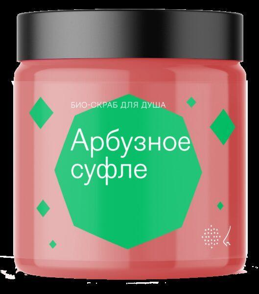 Библиотека ароматов Скраб для тела «Арбузное суфле» (Watermelon Souffle) 125мл