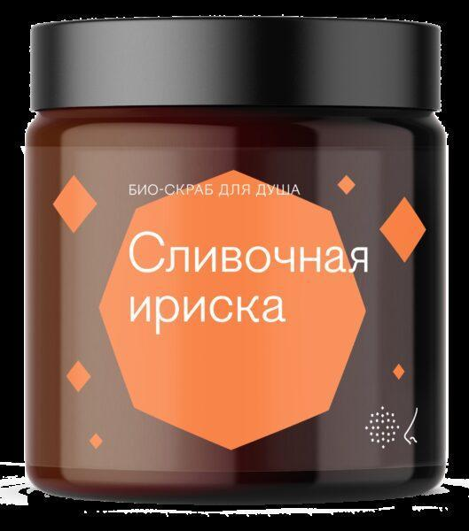 Библиотека ароматов Скраб для тела «Сливочная ириска» (Toffee) 125мл