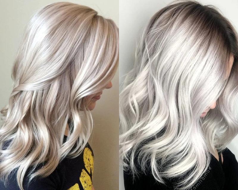 Жемчужный блонд